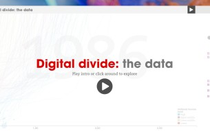 Interactive Digital Divide animation